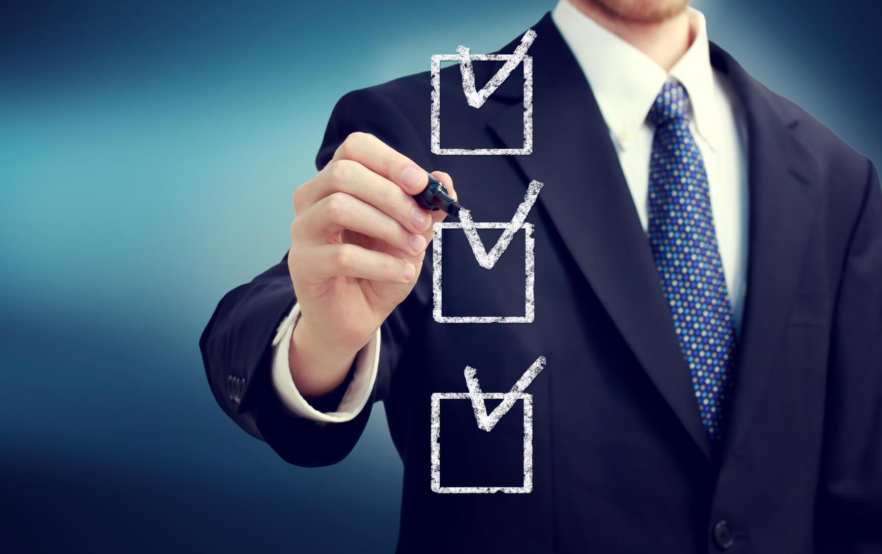 A special checklist to increase your efficiency