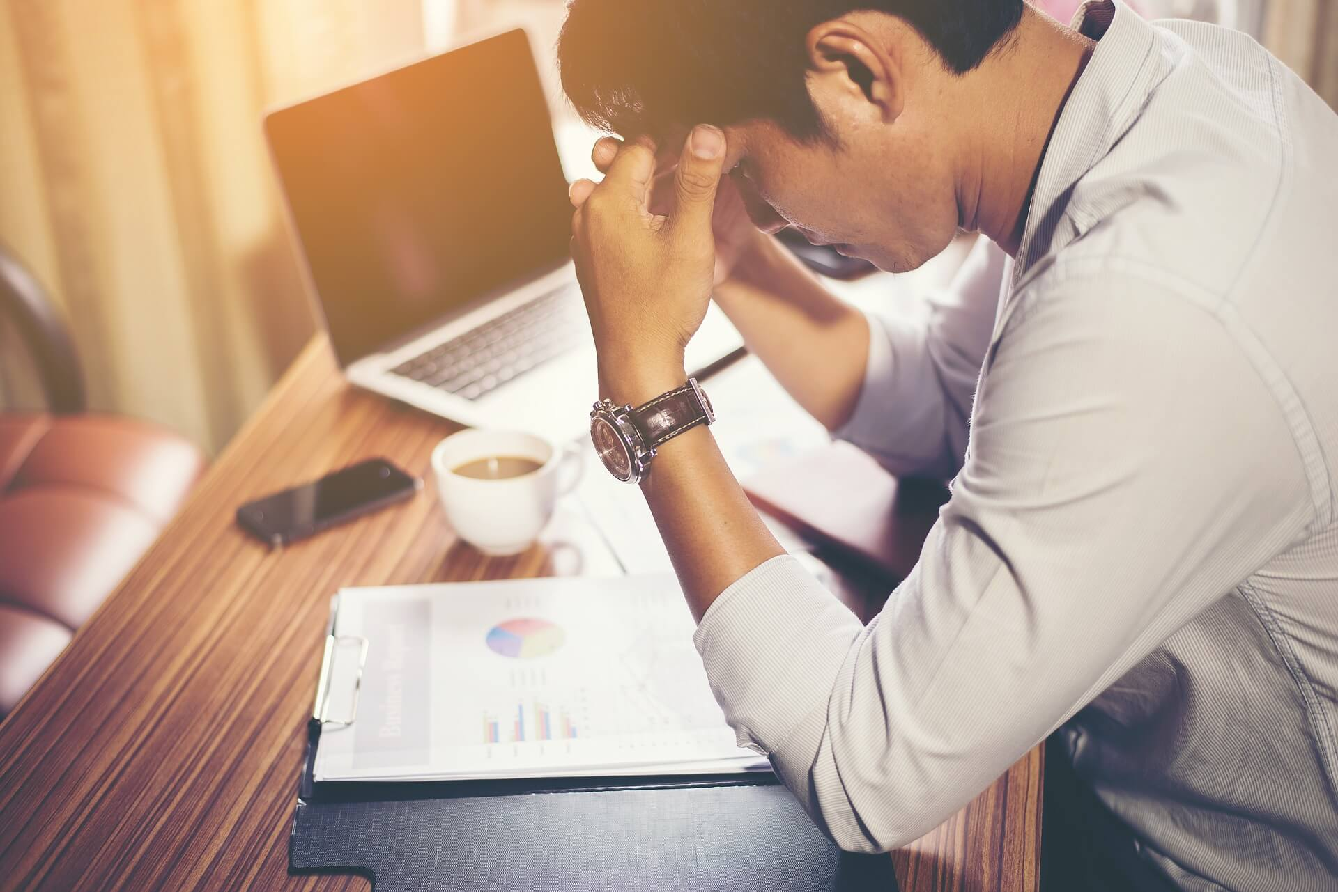 How to handle the stress of being an entrepreneur.